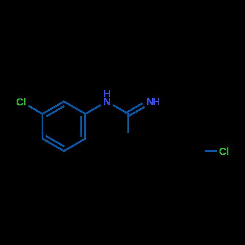 N-(3-Chlorophenyl)acetimidamide hydrochloride