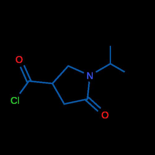 1-Isopropyl-5-oxopyrrolidine-3-carbonyl chloride