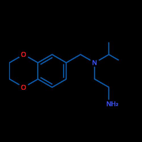 N1-((2,3-Dihydrobenzo[b][1,4]dioxin-6-yl)methyl)-N1-isopropylethane-1,2-diamine