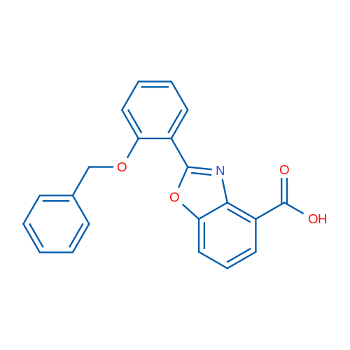 2-(2-(Benzyloxy)phenyl)benzo[d]oxazole-4-carboxylic acid