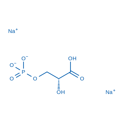 Sodium(R)-2-carboxy-2-hydroxyethylphosphate