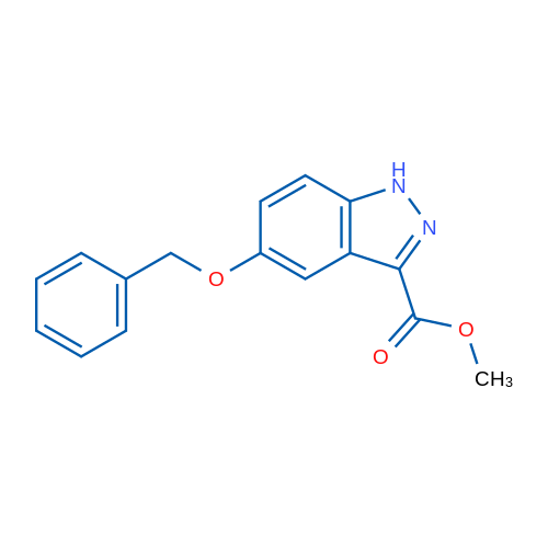 Methyl 5-(benzyloxy)-1H-indazole-3-carboxylate