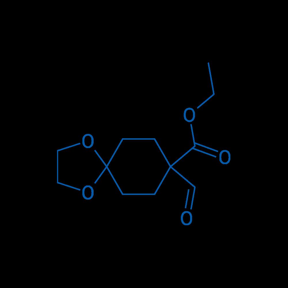Ethyl 8-formyl-1,4-dioxaspiro[4.5]decane-8-carboxylate