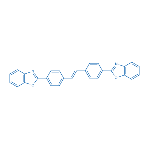 1,2-Bis(4-(benzo[d]oxazol-2-yl)phenyl)ethene