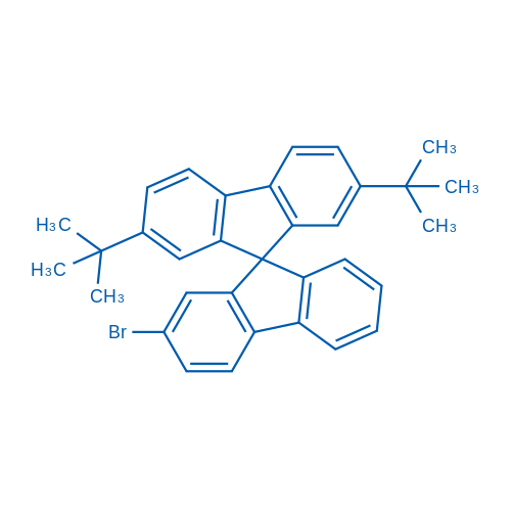 2'-Bromo-2,7-di-tert-butyl-9,9'-spirobi[fluorene]