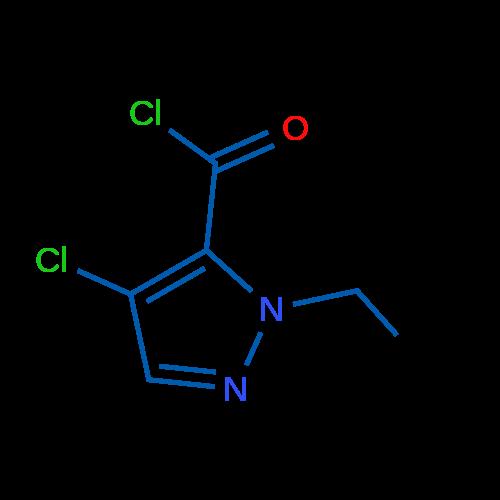 4-Chloro-1-ethyl-1H-pyrazole-5-carbonylchloride