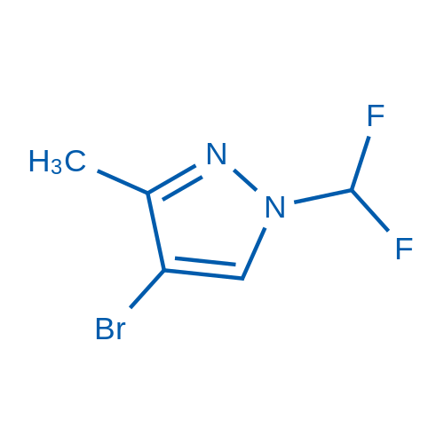 4-Bromo-1-(difluoromethyl)-3-methyl-1H-pyrazole