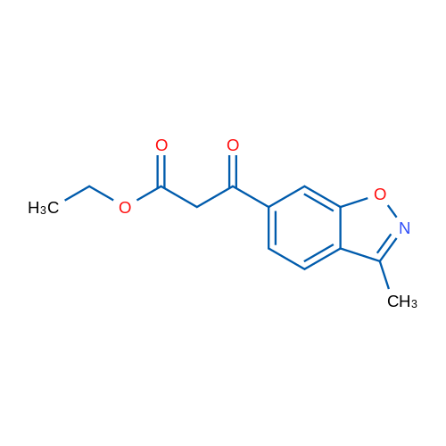 Ethyl3-(3-methylbenzo[d]isoxazol-6-yl)-3-oxopropanoate