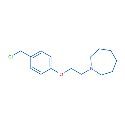 1-(2-(4-(Chloromethyl)phenoxy)ethyl)azepane