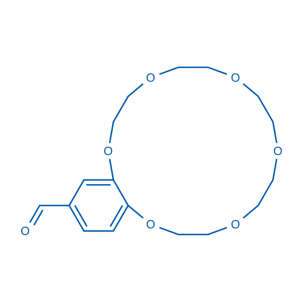2,3,5,6,8,9,11,12,14,15-Decahydrobenzo[b][1,4,7,10,13,16]hexaoxacyclooctadecine-18-carbaldehyde