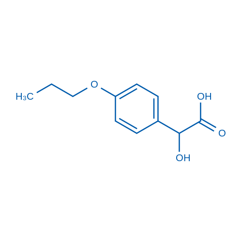 2-Hydroxy-2-(4-propoxyphenyl)acetic acid