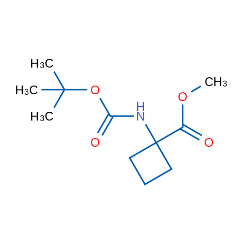 Methyl 1-((tert-butoxycarbonyl)amino)cyclobutanecarboxylate