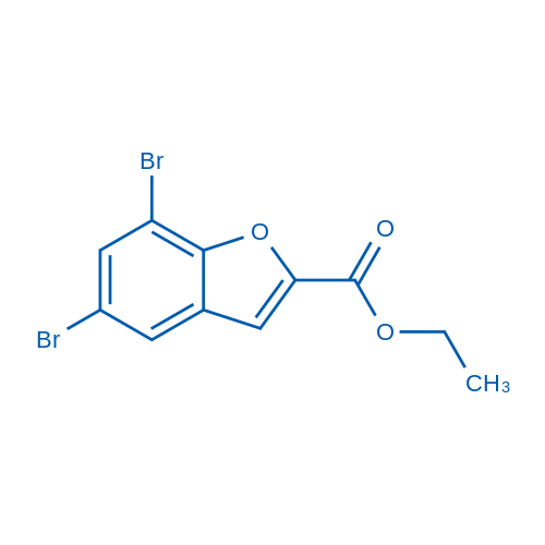 Ethyl 5,7-dibromobenzofuran-2-carboxylate