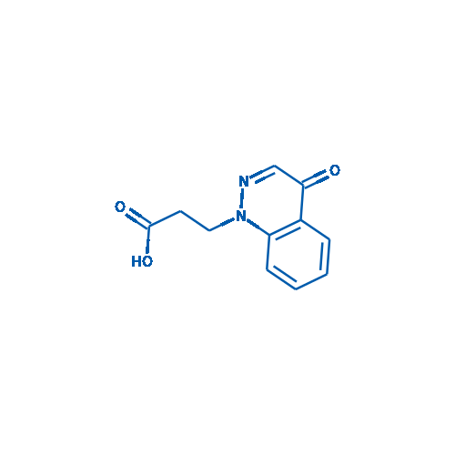 3-(4-Oxocinnolin-1(4H)-yl)propanoic acid