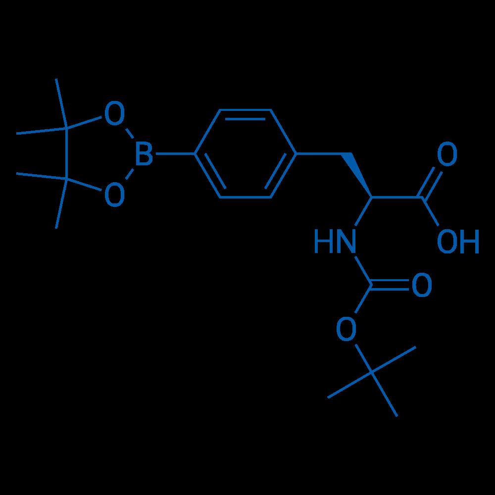 (S)-2-((tert-Butoxycarbonyl)amino)-3-(4-(4,4,5,5-tetramethyl-1,3,2-dioxaborolan-2-yl)phenyl)propanoic acid