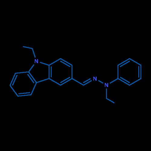 9-Ethyl-3-((2-ethyl-2-phenylhydrazono)methyl)-9H-carbazole