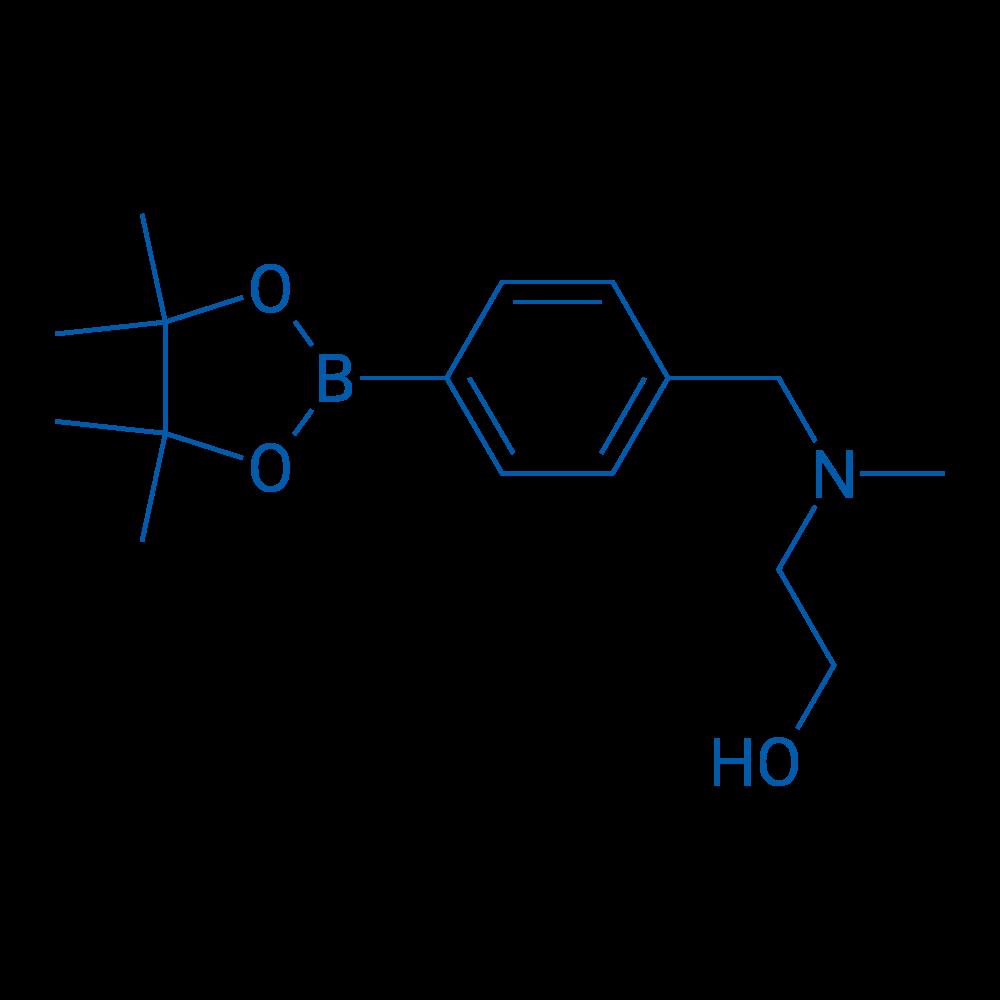 2-(Methyl(4-(4,4,5,5-tetramethyl-1,3,2-dioxaborolan-2-yl)benzyl)amino)ethanol