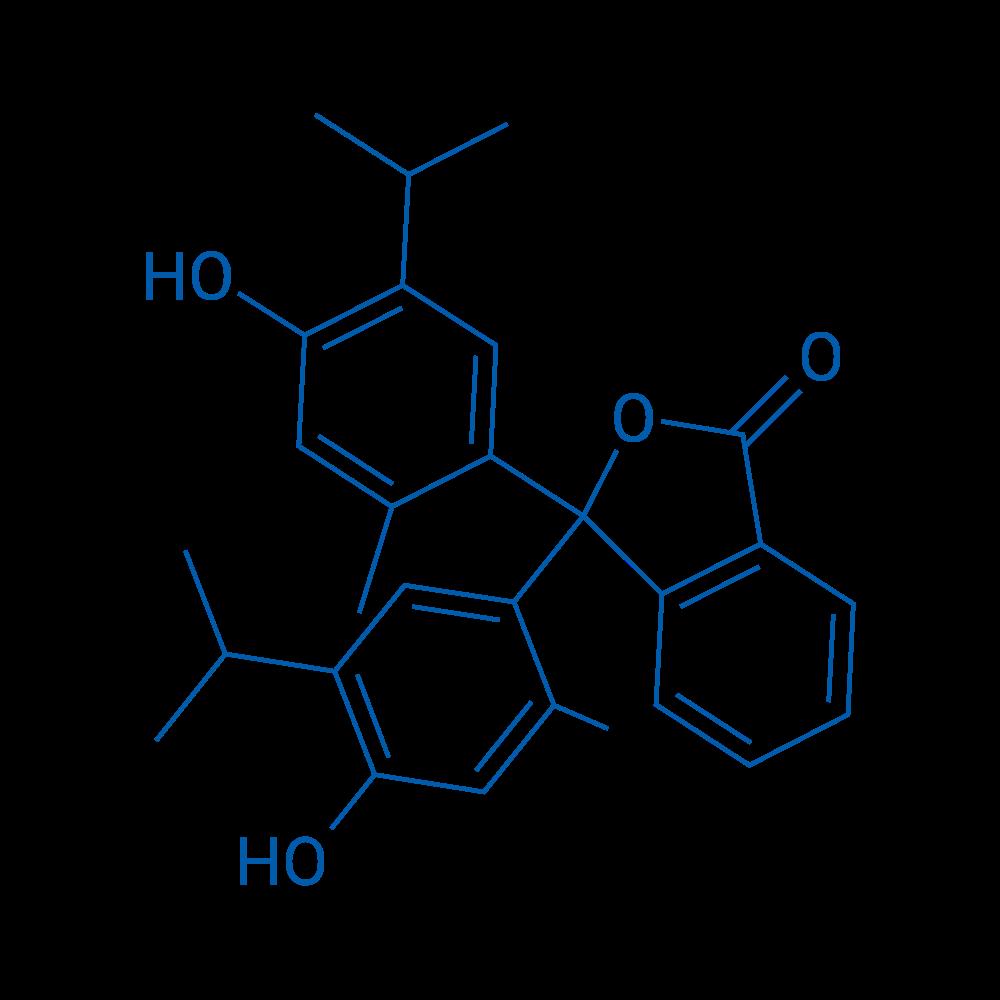 3,3-Bis(4-hydroxy-5-isopropyl-2-methylphenyl)isobenzofuran-1(3H)-one