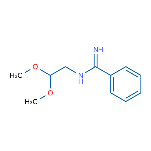 N-(2,2-Dimethoxyethyl)benzimidamide