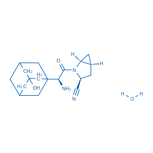 Saxagliptin hydrate