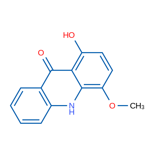 1-Hydroxy-4-methoxyacridin-9(10H)-one