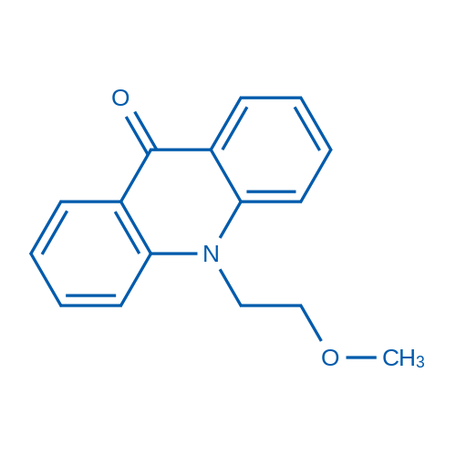 10-(2-Methoxyethyl)acridin-9(10H)-one