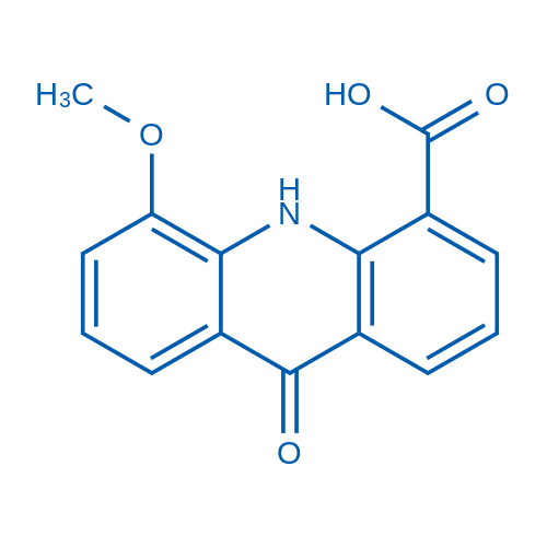 5-Methoxy-9-oxo-9,10-dihydroacridine-4-carboxylic acid