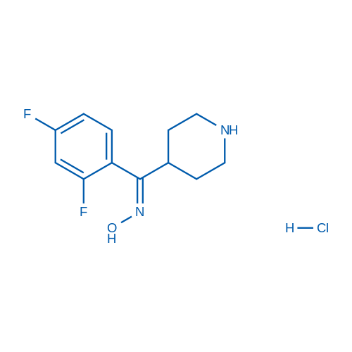 (2,4-Difluorophenyl)(piperidin-4-yl)methanoneoximehydrochloride
