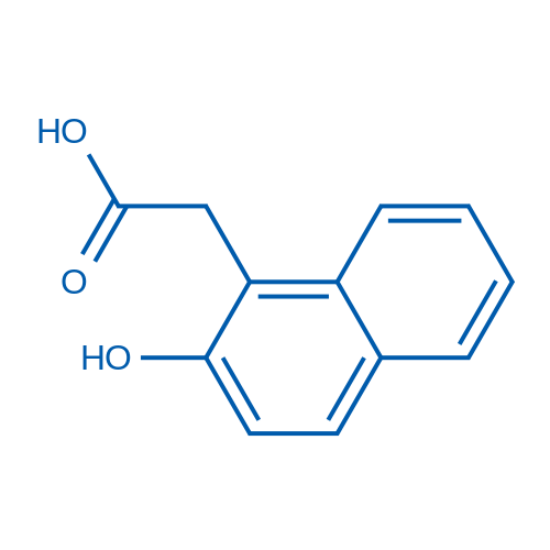 2-(2-Hydroxynaphthalen-1-yl)acetic acid