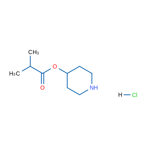 Piperidin-4-yl isobutyrate hydrochloride