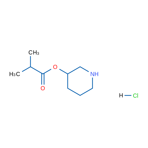 Piperidin-3-yl isobutyrate hydrochloride