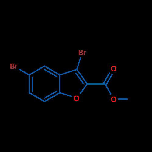 Methyl 3,5-dibromobenzofuran-2-carboxylate