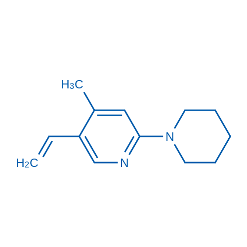 4-Methyl-2-(piperidin-1-yl)-5-vinylpyridine