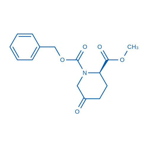 (R)-1-Benzyl 2-methyl 5-oxopiperidine-1,2-dicarboxylate