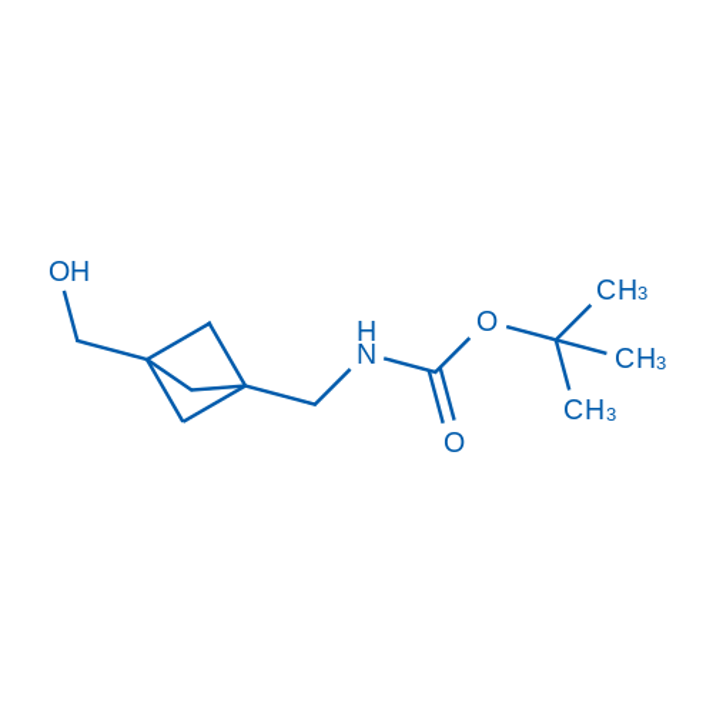 tert-Butyl ((3-(hydroxymethyl)bicyclo[1.1.1]pentan-1-yl)methyl)carbamate