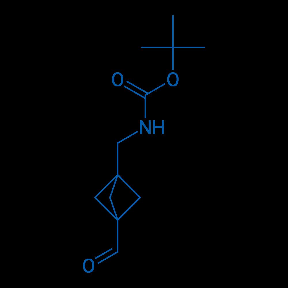 tert-Butyl ((3-formylbicyclo[1.1.1]pentan-1-yl)methyl)carbamate