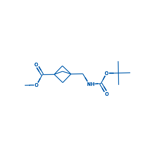 Methyl 3-(((tert-butoxycarbonyl)amino)methyl)bicyclo[1.1.1]pentane-1-carboxylate