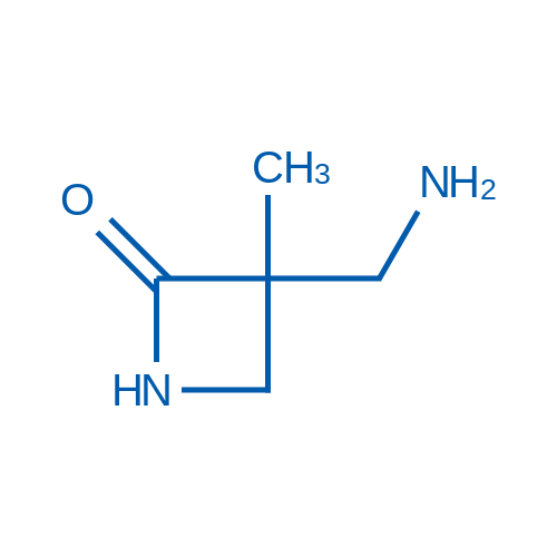 3-(Aminomethyl)-3-methylazetidin-2-one
