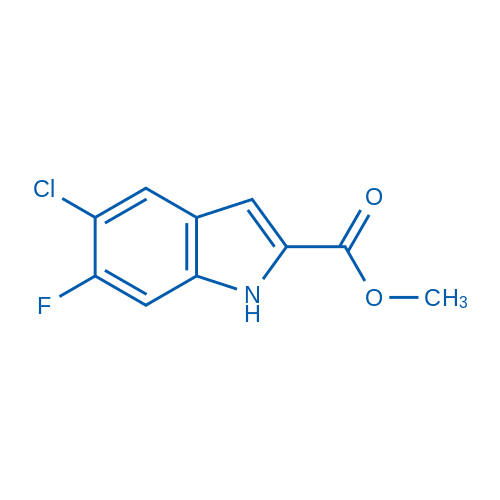Methyl 5-chloro-6-fluoro-1H-indole-2-carboxylate