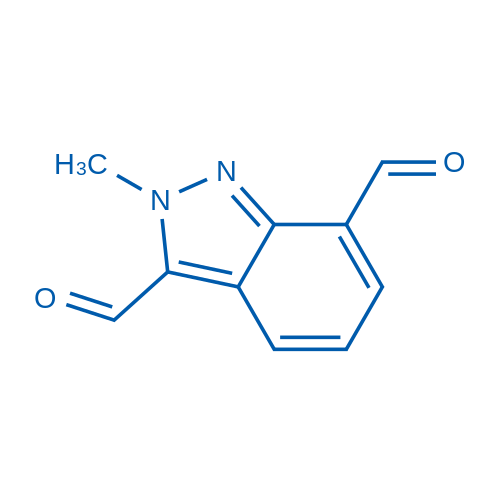2-Methyl-2H-indazole-3,7-dicarbaldehyde