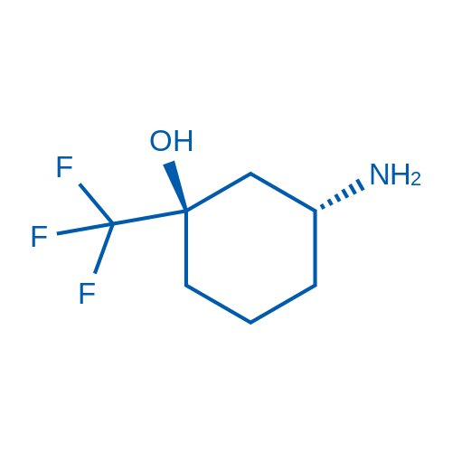 (1R,3R)-3-Amino-1-(trifluoromethyl)cyclohexanol