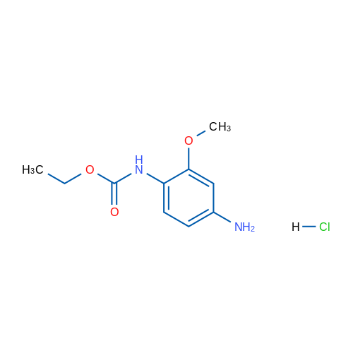 Ethyl(4-amino-2-methoxyphenyl)carbamatehydrochloride