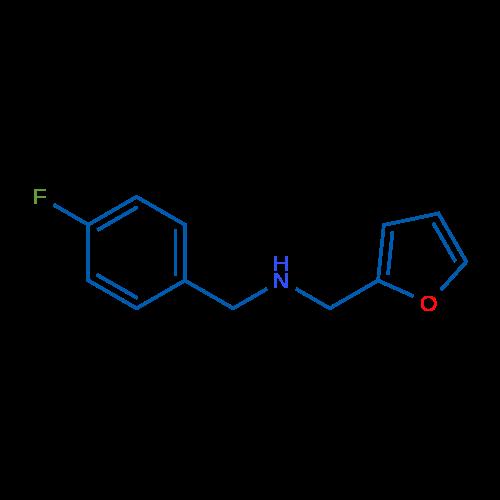 N-(4-Fluorobenzyl)-1-(furan-2-yl)methanamine