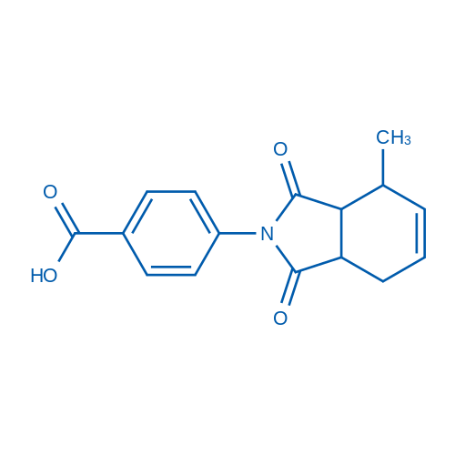 4-(4-Methyl-1,3-dioxo-3a,4,7,7a-tetrahydro-1H-isoindol-2(3H)-yl)benzoic acid