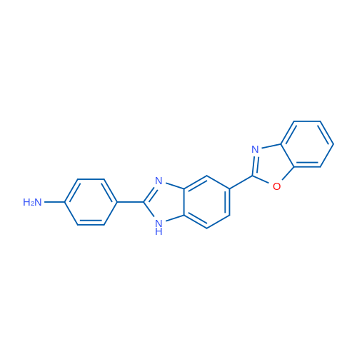4-(5-(Benzo[d]oxazol-2-yl)-1H-benzo[d]imidazol-2-yl)aniline