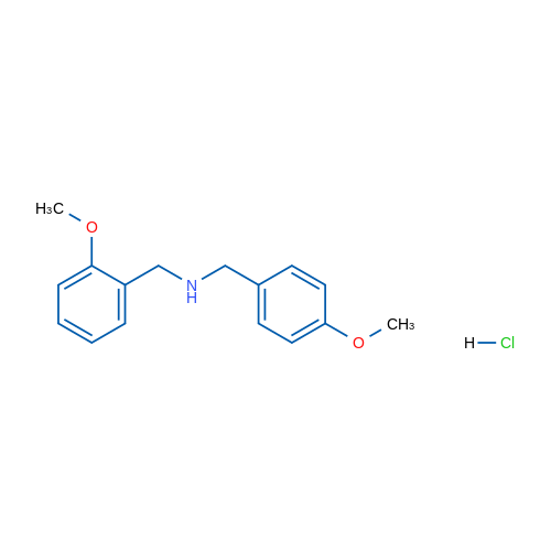 N-(2-Methoxybenzyl)-1-(4-methoxyphenyl)methanamine hydrochloride