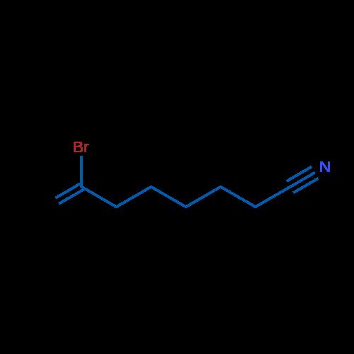 7-Bromo-7-octenenitrile