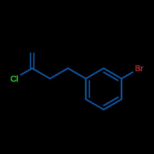 4-(3-Bromophenyl)-2-chloro-1-butene
