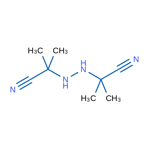 2,2'-(Hydrazine-1,2-diyl)bis(2-methylpropanenitrile)