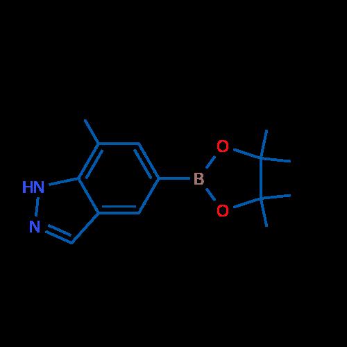 7-Methyl-5-(4,4,5,5-tetramethyl-1,3,2-dioxaborolan-2-yl)-1H-indazole